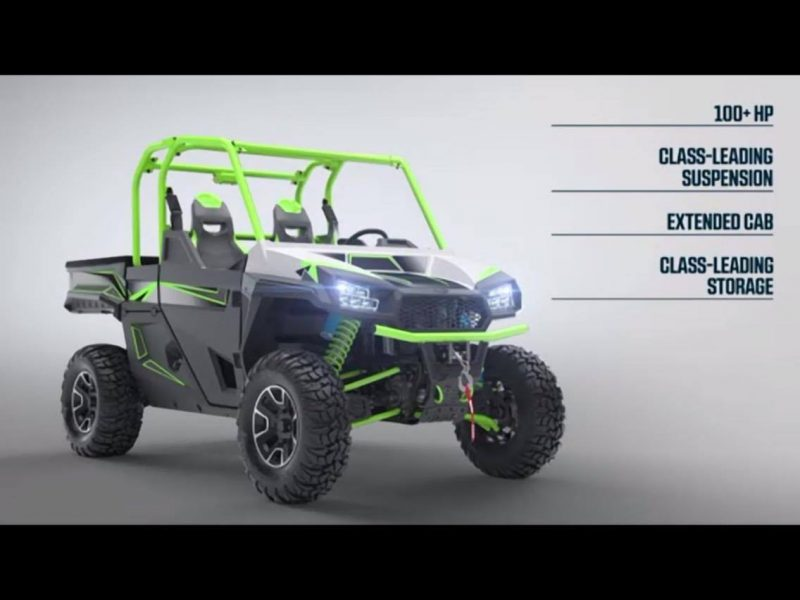 Arctic Cat Announces A New Sport Utility Side By Side