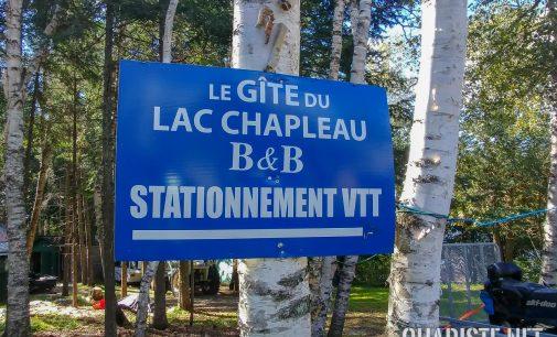Chronique voyage : Le gîte du Lac Chapleau dans les Laurentides.