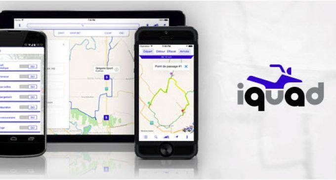 PRIMEUR:  iQuad et la Carte interactive finalement optimisés pour afficher les sentiers ouverts en temps réel!