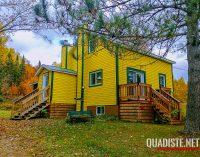 Chronique voyage: La Maison Jaune de Chute St-Philippe dans les Hautes-Laurentides