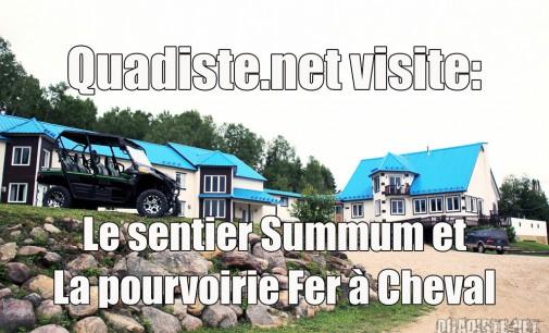 On est allé: Sentier Summum / Pourvoirie du Fer à Cheval (en famille)