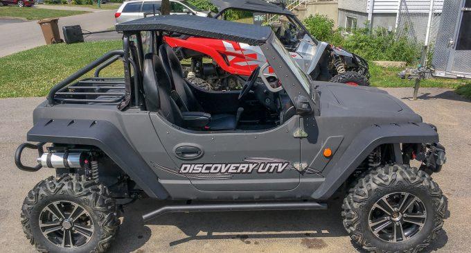 ESSAI: Discovery UTV automatique 2019 (modèle pré-production)